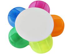 Маркер 5-цветный Flower, белый фото