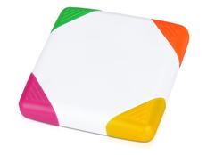 Маркер 4-цветный Квадрат, разноцветный фото