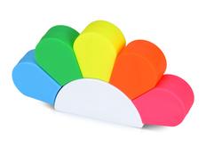 Маркер Цветок, разноцветный фото