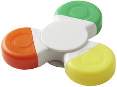 Маркер 3-цветный в виде спиннера Fun Tri-Twist, белый фото