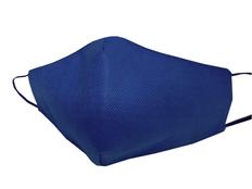Маска для лица многоразовая из спанбонда, тёмно-синяя фото