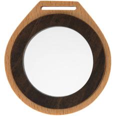 Медаль деревянная Nimbo, коричневая фото