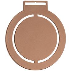 Медаль металлическая Steel Rond, бронзовая фото