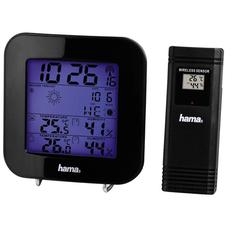 Метеостанция Hama EWS-200, черная фото