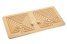 Межполушарная доска Wood Games, сложный квадрат фото