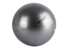 Мяч для фитнеса, йоги и пилатеса Fitball, диаметр 25 см, серый фото