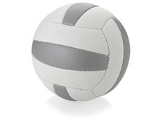 Мяч для пляжного волейбола, серый, белый фото
