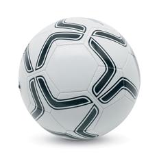 Мяч футбольный с треугольниками Ø21,5 CM, черный, белый фото