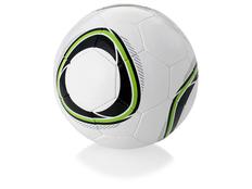 Мяч футбольный Размер 4, черный/ белый, зеленый фото