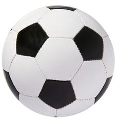 Мяч футбольный Street, бело-черный фото