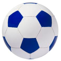 Мяч футбольный Street, бело-синий фото