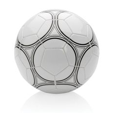 Мяч футбольный XD Collection, №5, белый / черный фото