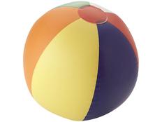 Мяч надувной пляжный, многоцветный фото