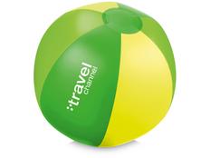 Мяч надувной пляжный Trias, зеленый фото