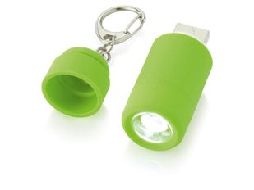 Мини-фонарь Avior с зарядкой от USB, зеленый фото