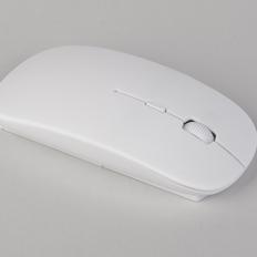 Мышь компьютерная беспроводная Freerider с антибактериальной защитой, белая фото