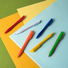 Ручка шариковая пластиковая NeoPen N7, белая фото