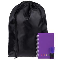 Набор Acid Jazz: рюкзак Element, блокнот Stick, маркер текстовый Liqeo Mini, фиолетовый фото