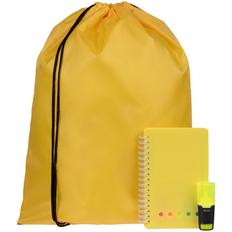 Набор Acid Jazz: рюкзак Element, блокнот Stick, маркер текстовый Liqeo Mini, желтый фото