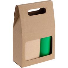 Набор Alliance: чай и термостакан, зеленый фото