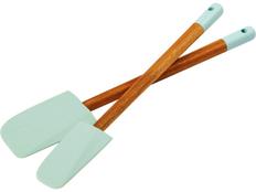 Набор Altus из 2 кухонных лопаток, коричневый/бирюзовый фото