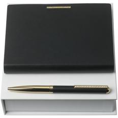 Набор Nina Ricci Barrette Noir: блокнот А6 и ручка, черный фото