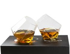 Набор бокалов подарочный Diamond ver.2, прозрачный фото