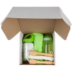 Набор Bumpy: футболка женская, бутылка для воды, охлаждающее полотенце, скакалка Forrest Jump, зеленый фото