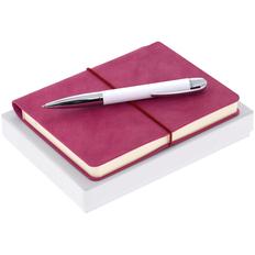 Набор Business Diary Mini: ежедневник Kuka Mini, ручка шариковая Arc Soft Touch, розовый фото