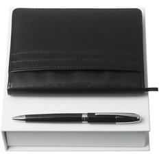 Набор Nina Ricci Club: блокнот А6 и ручка, черный фото
