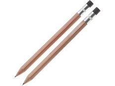 Набор подарочный Даллас: ручка шариковая, карандаш механический, светлое дерево фото