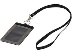Набор для бейджа, черный, серый фото