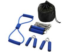 Набор для фитнеса Dwayne, синий фото