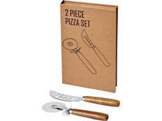 Набор для пиццы Avenue Reze, коричневый фото