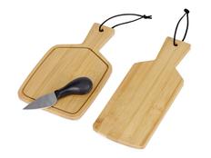 Набор для сыра и тапасов Tapas, черный / крафт фото