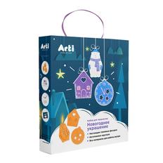 Набор для творчества Winter's Tale: мишка, домик, часы, разноцветный фото