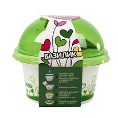 Набор для выращивания микрозелени «Базилик» фото