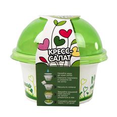 Набор для выращивания микрозелени «Кресс-салат» фото