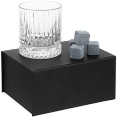 Набор для виски Elision, черный/ прозрачный фото