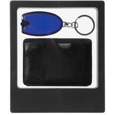 Набор Doyle: брелок-фонарик Vivid, мультитул Dextro, синий фото