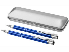 Набор подарочный Dublin: ручка шариковая, карандаш механический, синий фото