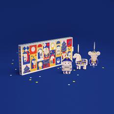 Набор из 3 игрушек в пенале v.2.0: «Щелкунчик», «Лошадка», «Мышиный король», разноцветный фото