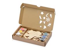 Набор елочных игрушек для раскрашивания Christmas Toys, крафт фото