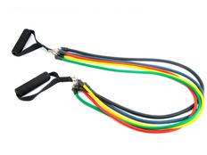 Набор эспандеров универсальный Profisport, разноцветный фото