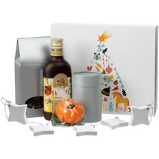 Набор Everybody Herbs: сбитень, свеча, чай, имбирные пряники, серебристый фото