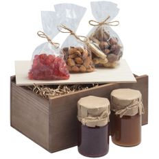Набор Fairytale: варенье, мед, орехи, цукаты, крафт фото