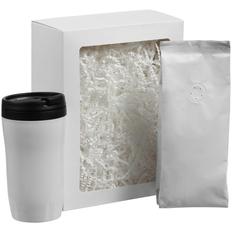 Набор Foresight: термостакан и кофе, белый фото