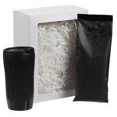 Набор Foresight: термостакан и кофе, черный фото