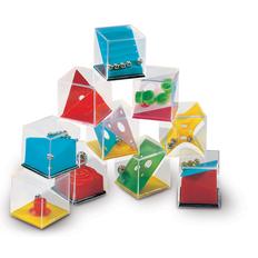 Набор головоломок, разноцветный фото