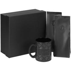 Набор Hard Work Black: кружка, кофе, черный фото